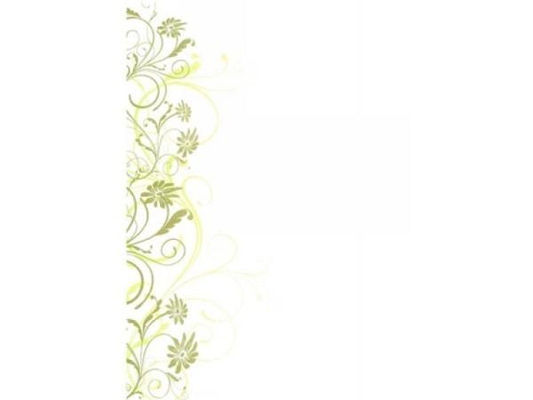 Papier Artoz Design Blüten und Ranken 5 Blatt Papier 90g