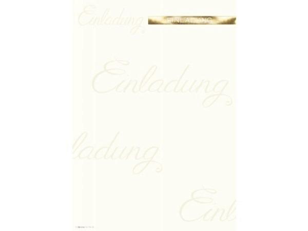 Papier Artoz Design Einladung A4 5er Set