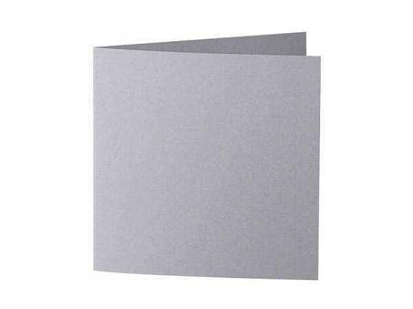 Karten Artoz 15,5x15,5cm graphit 220g/qm, leicht gerippt