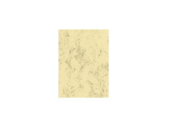 Papier Artoz S-Line A4 200g marmoriert gelb, 5 Stk.