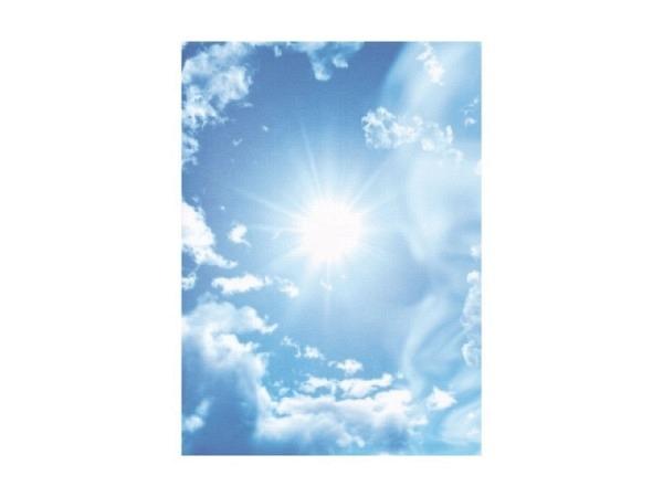 Papier Artoz Design 5Stk. Wolken und Sonne, A4 110g/qm