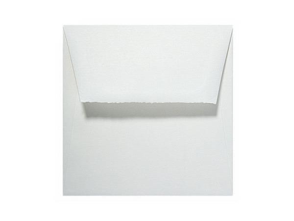 Couverts Artoz Bütten Rondo 16,5x16,5cm naturweiss 110g/qm