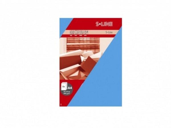 Papier Artoz S-Line A4 200g blau, 5 Stk.