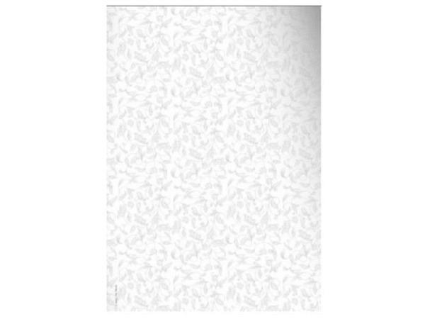 Papier Artoz Design Flora silber 5 Bogen A4 110g/qm