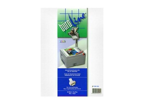 Folie Büroline Inkjet für alle Inkjet-Drucker, 50Stk. A4