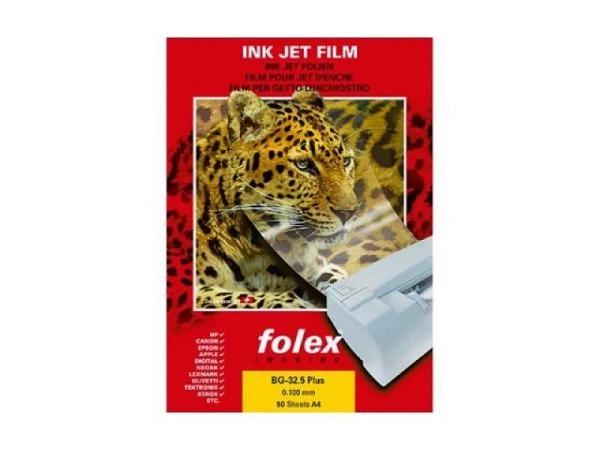 Folie Folex A4 transparent für Inkjet mit Sensorstreifen