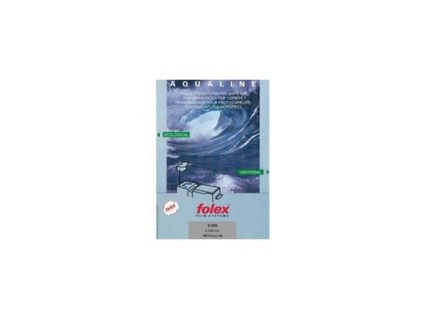 Folie Folex A4 Aqualine transparent 100Blt.
