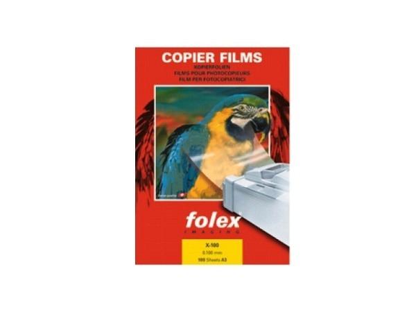 Folie Folex X-100 A3 transparent