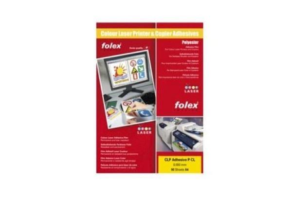 Folie Folex für (Farb-)laser transparent, 10Stk. A4