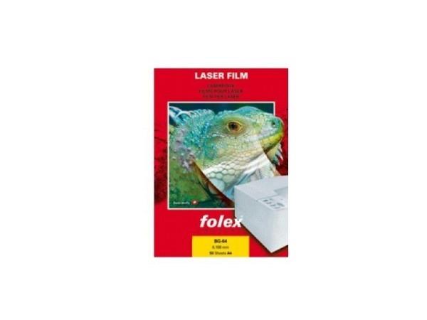 Folie Folex A4 für s/w-Laser BG-64 50Stk. ohne Streifen