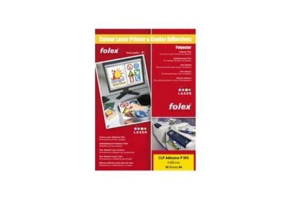 Folie Folex für (Farb-)laser weiss, 10Stk. A4, wetterfest