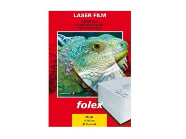 Folie Folex A4 BG-67 0,1mm für Farblaser