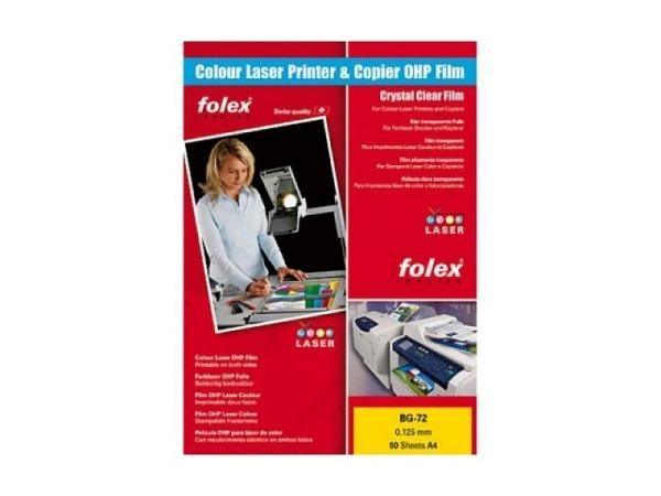 Folie Folex A4 BG-72 für Laserdrucker geignet 50 Stk