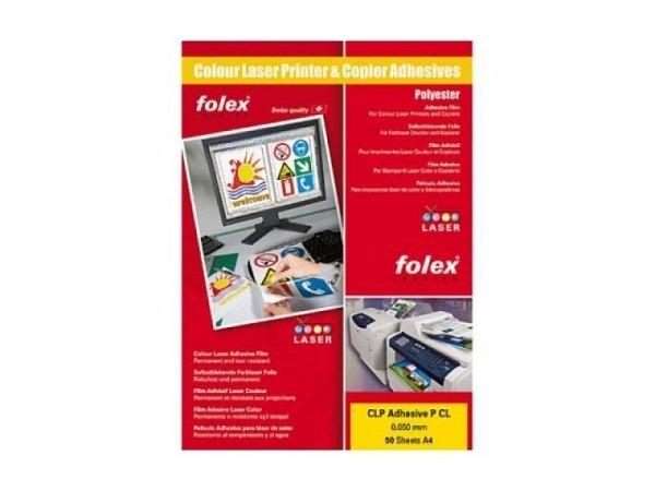 Folie Folex A4 transparent glanz, selbstklebend 1 Bogen