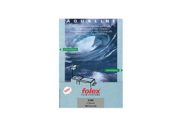 Folie Folex A4 Aqualine X-500, Universalkopierfolie