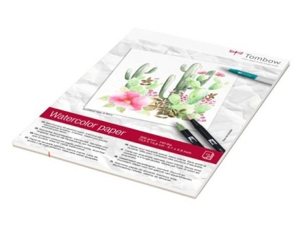 Aquarellblock Arches fein 300g/qm 19x26cm 12Blatt