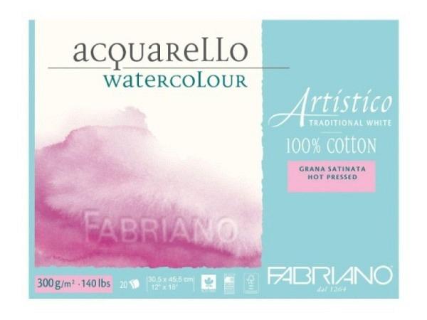 Aquarellblock Arches fein 300g 10Blatt Postkarten 10,5x15,5