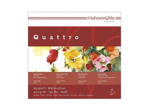Aquarellblock Hahnemühle Britannia Quattro matt 300g/qm 25x25cm
