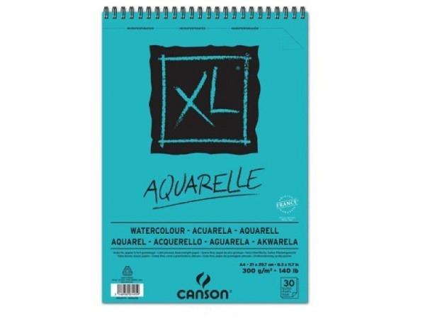Aquarellblock Canson Aquarelle XL A4