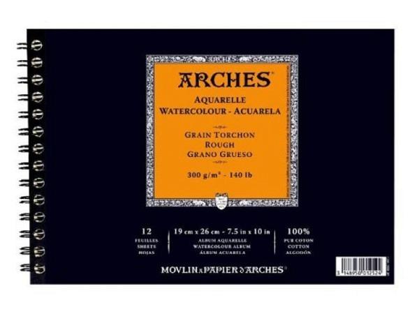 Aquarellblock Arches Torchon 300g/qm 26x36cm 12Blatt