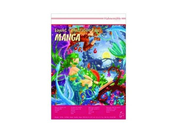Zeichenblock Hahnemühle Manga Illustrationsblock A4, 80g