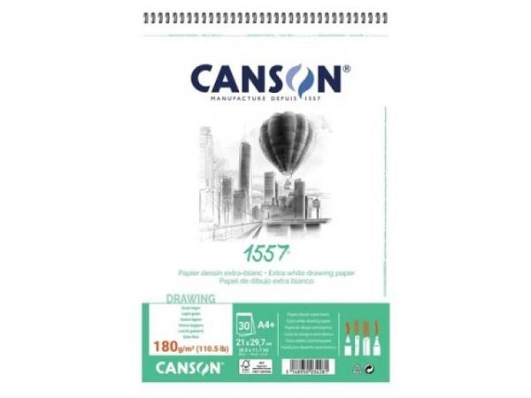 Zeichenblock Canson 1557 180g/qm Spiralbindung A4