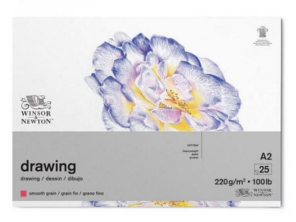 Zeichenblock Winsor Newton Smooth Surface 220g A2