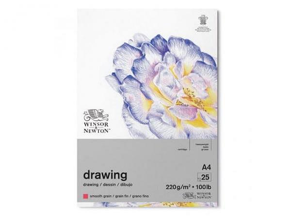 Zeichenblock Winsor Newton Smooth Surface 220g A4