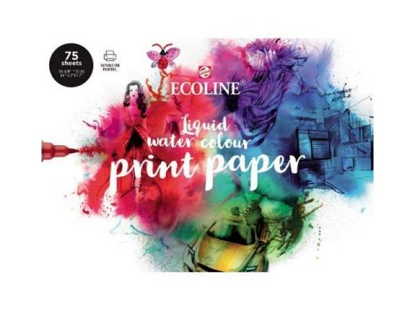 Zeichenpapier Talens Ecoline Print Paper 160g/qm A4