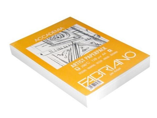 Zeichenpapier Fabriano Accademia Artist 120g A4 200Blatt