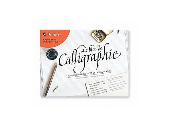 Zeichenblock Brause Calligraphy Practice Pad A4 quer