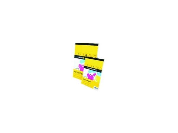 Akrylblock Daler-Rowney System 3 A4 20Blatt 230g/qm säurefr.