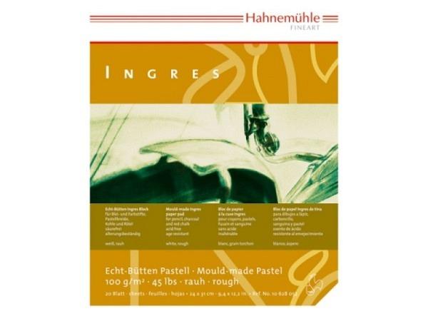 Ingresblock Hahnemühle weiss 100g 20Bl. 24x31cm