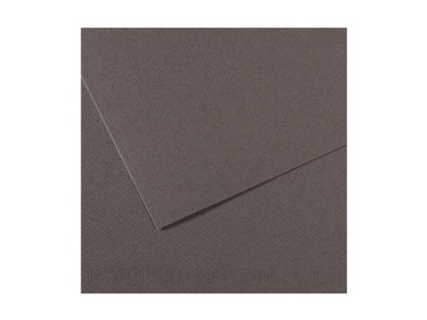 Mi-Teintes 50x65cm 160g/qm Dunkelgrau säurefrei 345
