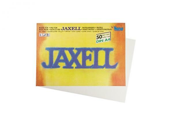 Pastellblock Jaxell A4 50Bl. 150g, für Pastellkreiden