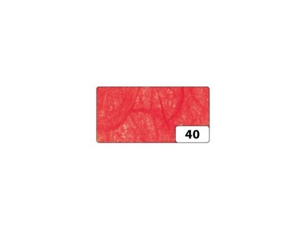 Japanpapier Faserseide Folia orange 47x64cm, 25g/qm, gefalzt