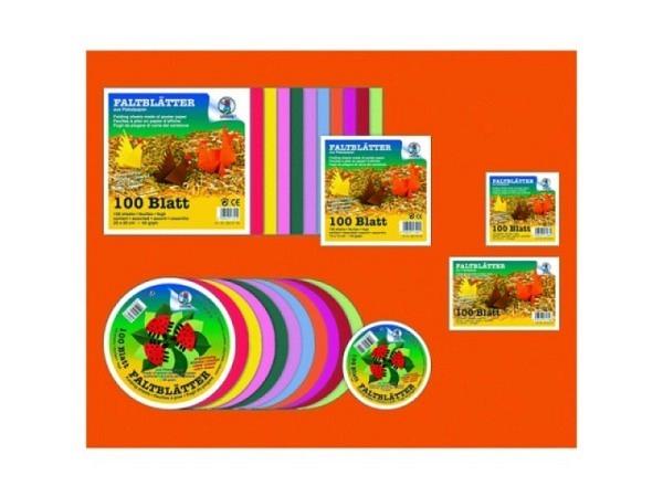 Origami Ursus 20x20cm 100Blatt 65g/qm farbiges Plakatpapier