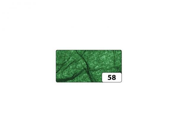 Japanpapier Faserseide Folia grün 47x64cm, 25g/qm, gefalzt