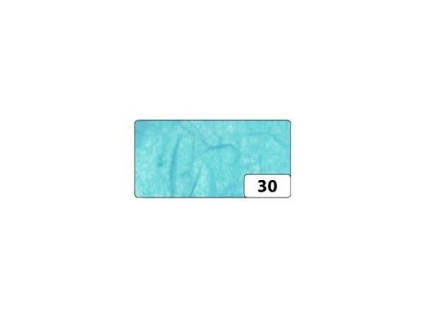 Japanpapier Faserseide Folia hellblau 47x64cm 25g/qm gefalzt