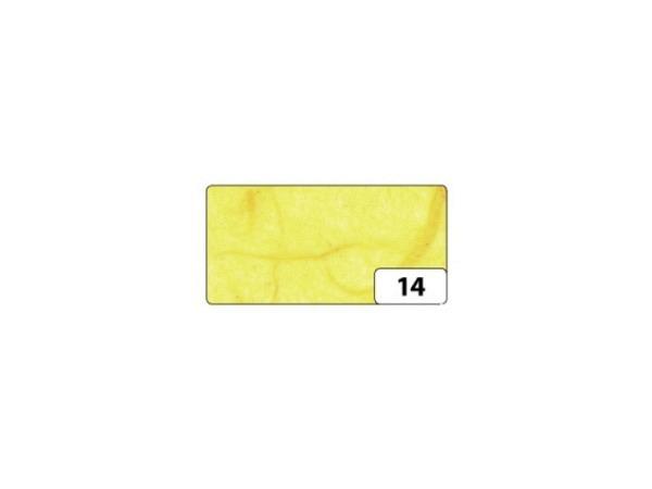 Japanpapier Faserseide Folia banane 47x64cm, 25g/qm, gefalzt