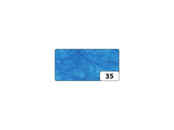 Japanpapier Faserseide Folia königsblau 47x64cm 25g gefalzt