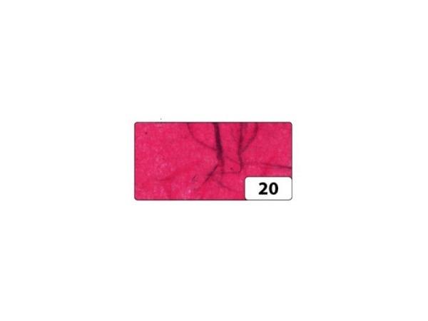 Japanpapier Faserseide Folia rot 47x64cm, 25g/qm, gefalzt