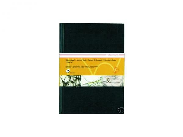 Skizzenbuch Hahnemühle 120g A5 schwarzer fester Umband