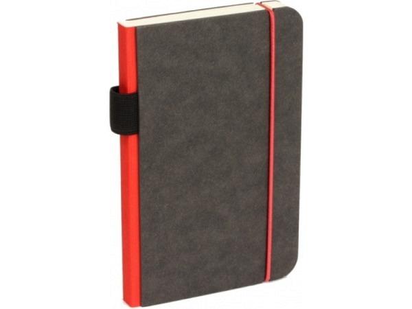Skizzenbuch Bindewerk Contemporary 9x14cm rot