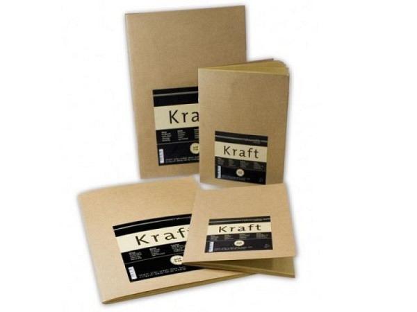 Skizzenheft Hahnemühle Kraft Paper A4 20Blatt 120g/qm