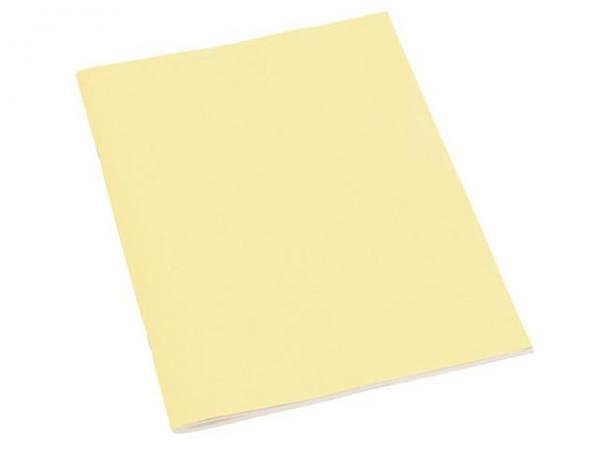 kizzenheft Semikolon A4 chamois Papierbezug, blanko