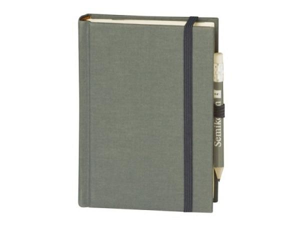 Skizzenbuch Semikolon Petit Voyage 10x14,4cm grau