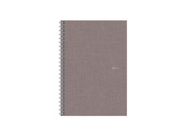 Skizzenheft Fabriano EcoQua A5 Spirale grau mit 70 Seiten