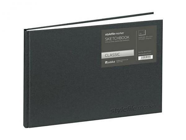 Skizzenbuch Stylefile Marker Classic A4 22x30,3x1,8cm quer