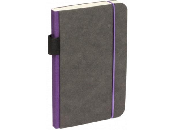 Skizzenbuch Bindewerk Contemporary 9x14cm violett